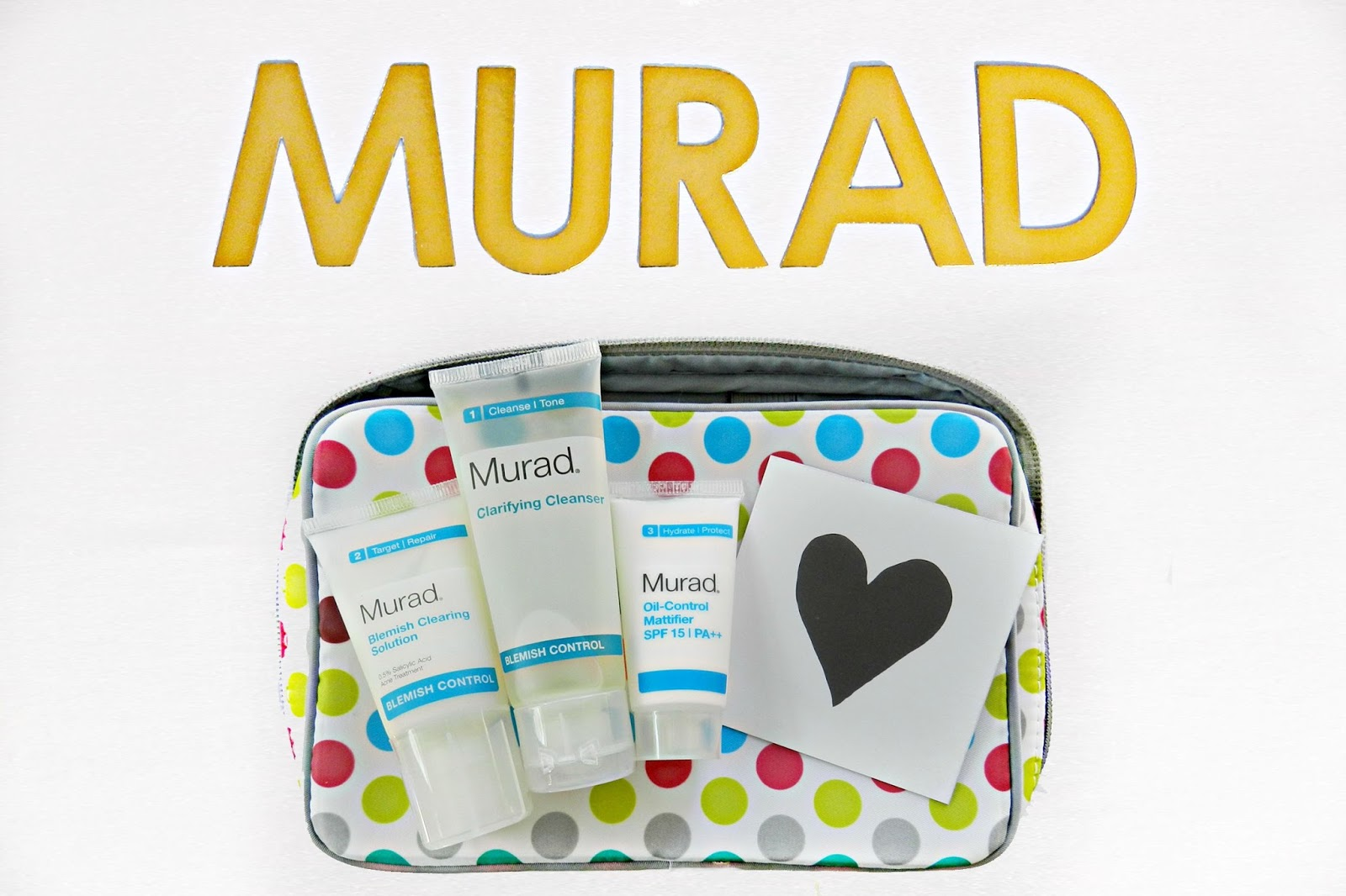murad blemish control travel set review sephora