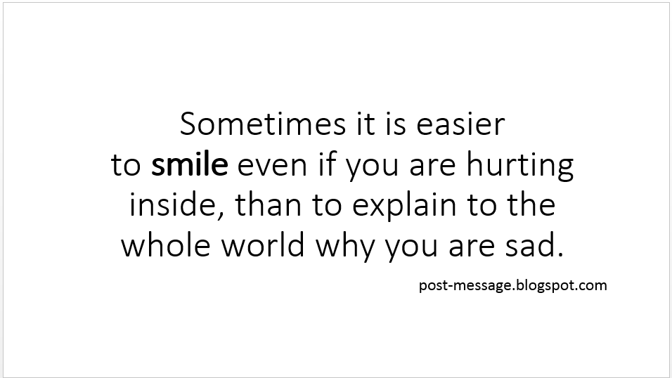 Instagram World Smile Quotes