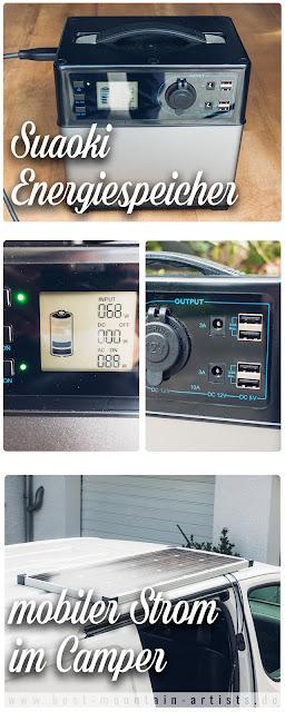 Suaoki 400Wh Mobiler Energiespeicher