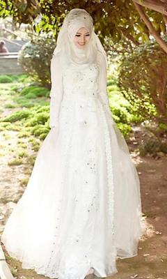 Gaun Pernikahan Islami