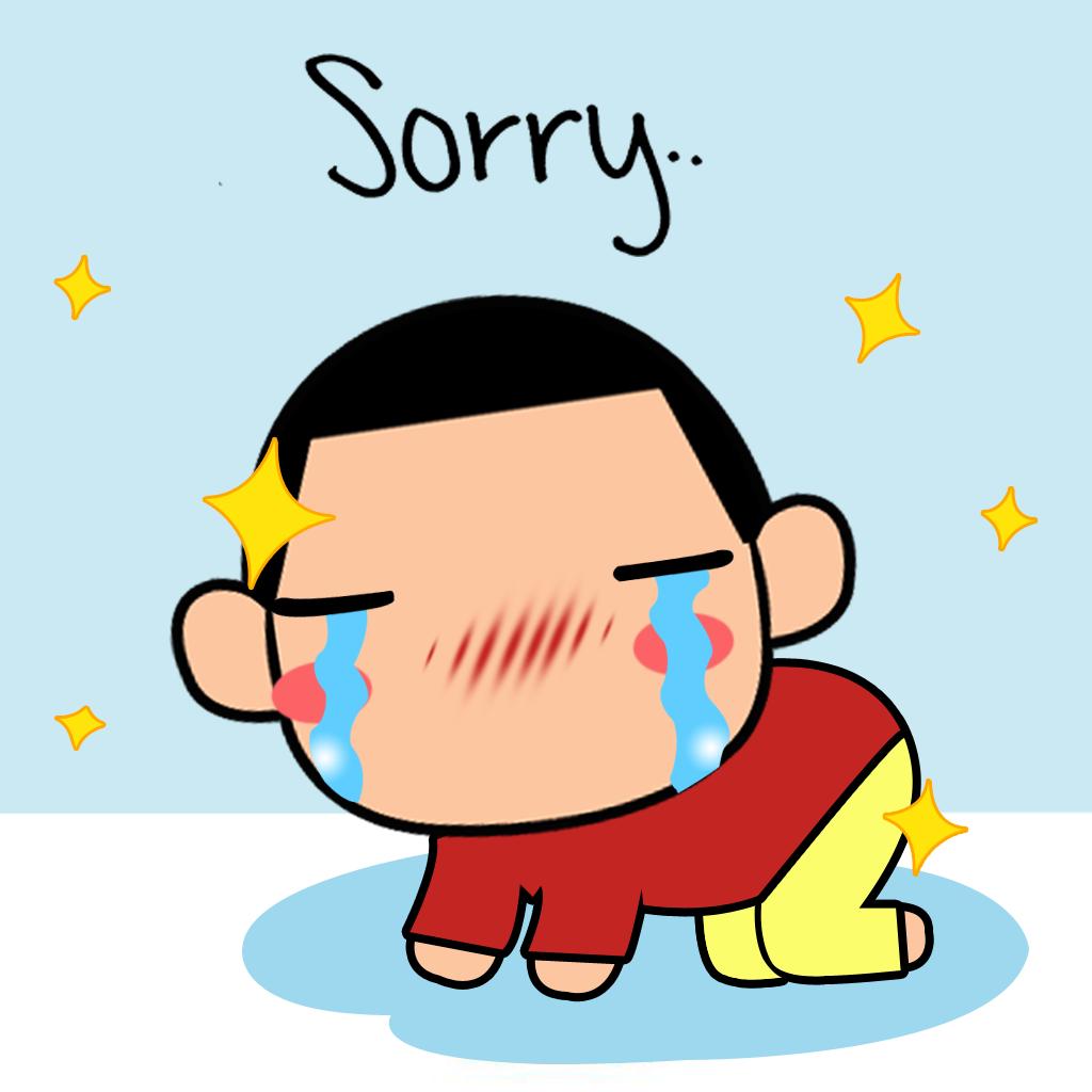 game: cute little boy shin emoticon - cartoon sticker