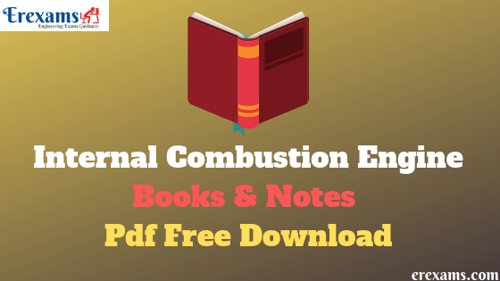 Internal Combustion Engine Books and Notes Pdf Free Download
