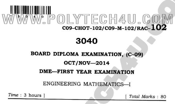c-09 dme-102 engineering mathematics-1