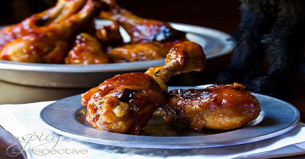 Sweet And Spicy Drumsticks Recipe