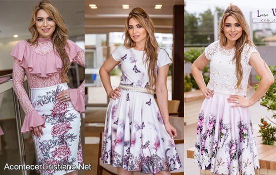 Modelos de vestidos para gorditas cristianas