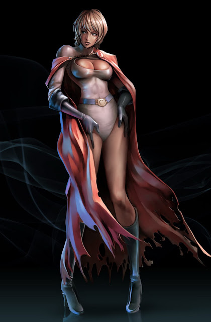 Power Girl by Noroshi Ikegami
