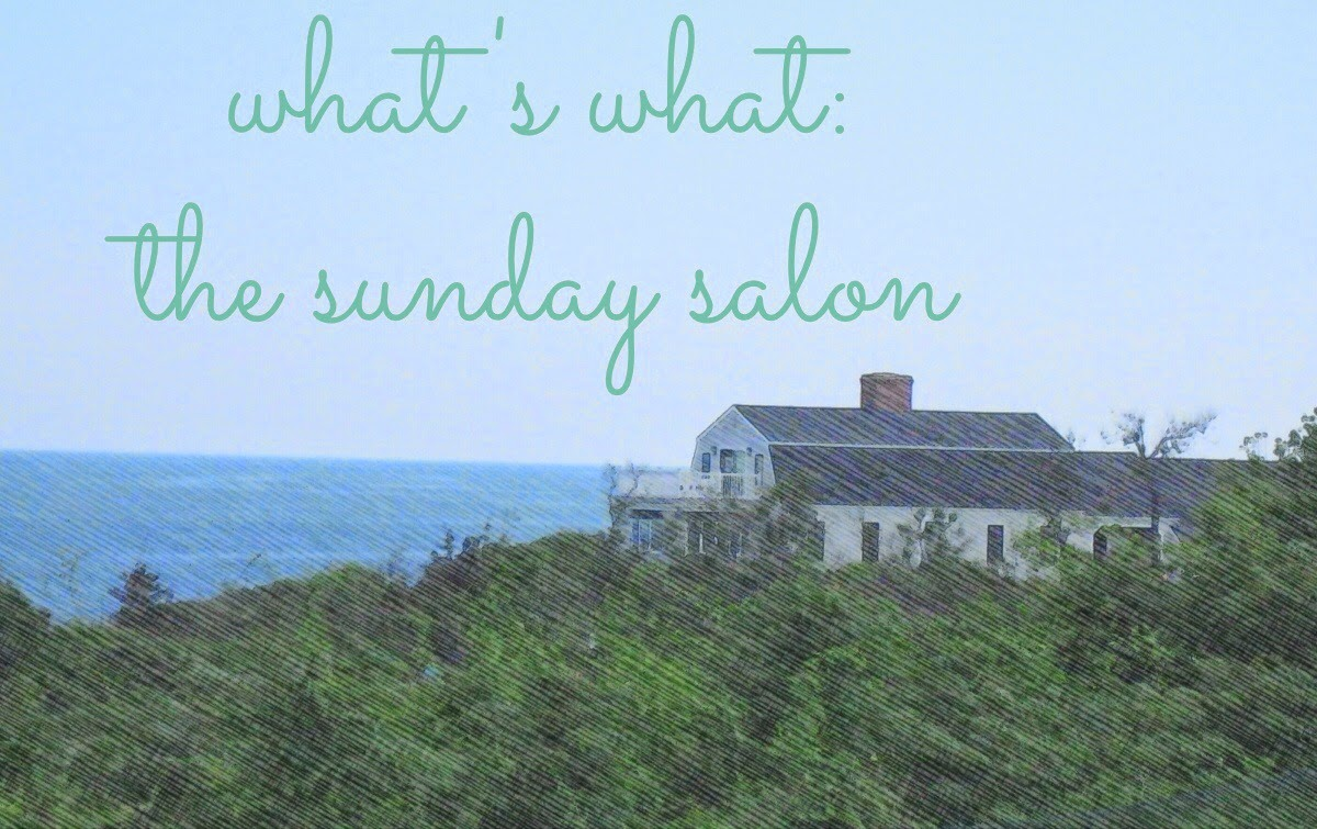 """What's What"" in the Sunday Salon on The 3 R's Blog"