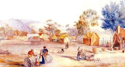 Asentamiento de colonos en Nueva Gales del Sur