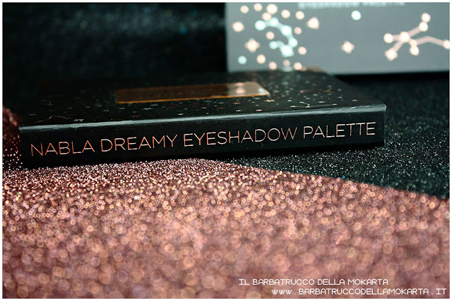 dreamy eyeshadow palette nabla cosmetics ombretti trucco