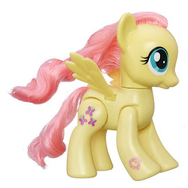 My Little Pony 6-Inch Action Friends Wave 1 Fluttershy Brushable Pony