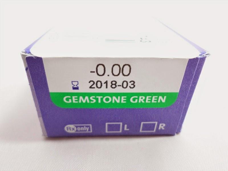 Freshlook Colorblends In Gemstone Green Rochelle Rivera