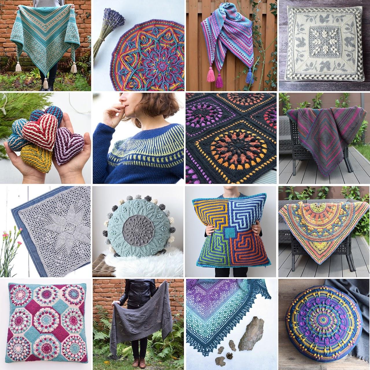 Crochet patterns 2018 by www.lillabjorncrochet.com