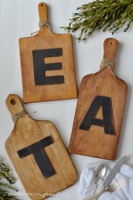 Dekorasi ruang makan
