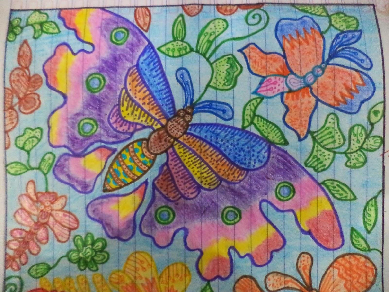 pasti bisa Desain Ragam Hias Flora Fauna Batik Kelas 8