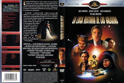 Carátula de dvd: La loca historia de las galaxias | 1987 | Spaceballs