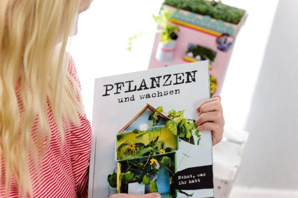 Pflanzen und wachsen von Ikea: Upcycling mit Kindern