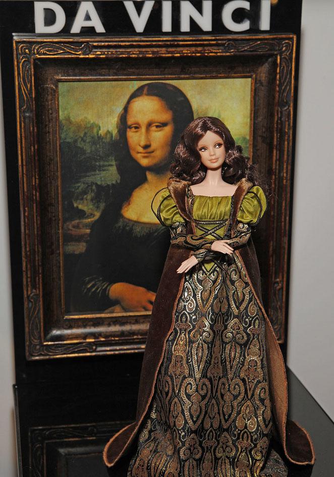Da Vinci barbie