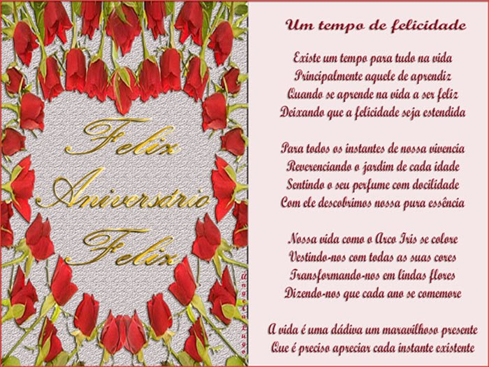 Poemas De Aniversario Para Amiga