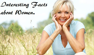 Interesting facts about women