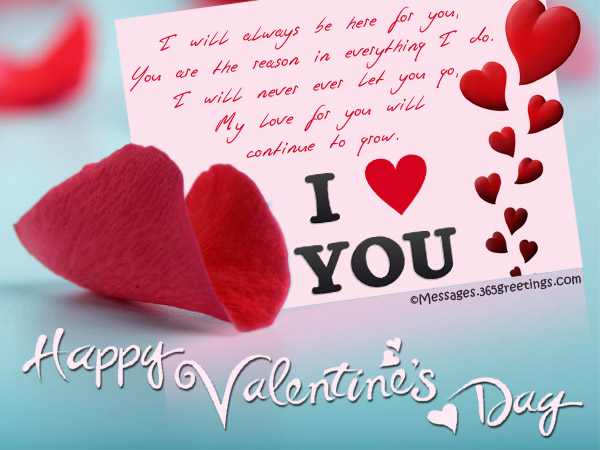 Sweet Valentines Day Greeting Messages for Wife and Girlfriend – Messages to Write in Valentines Cards