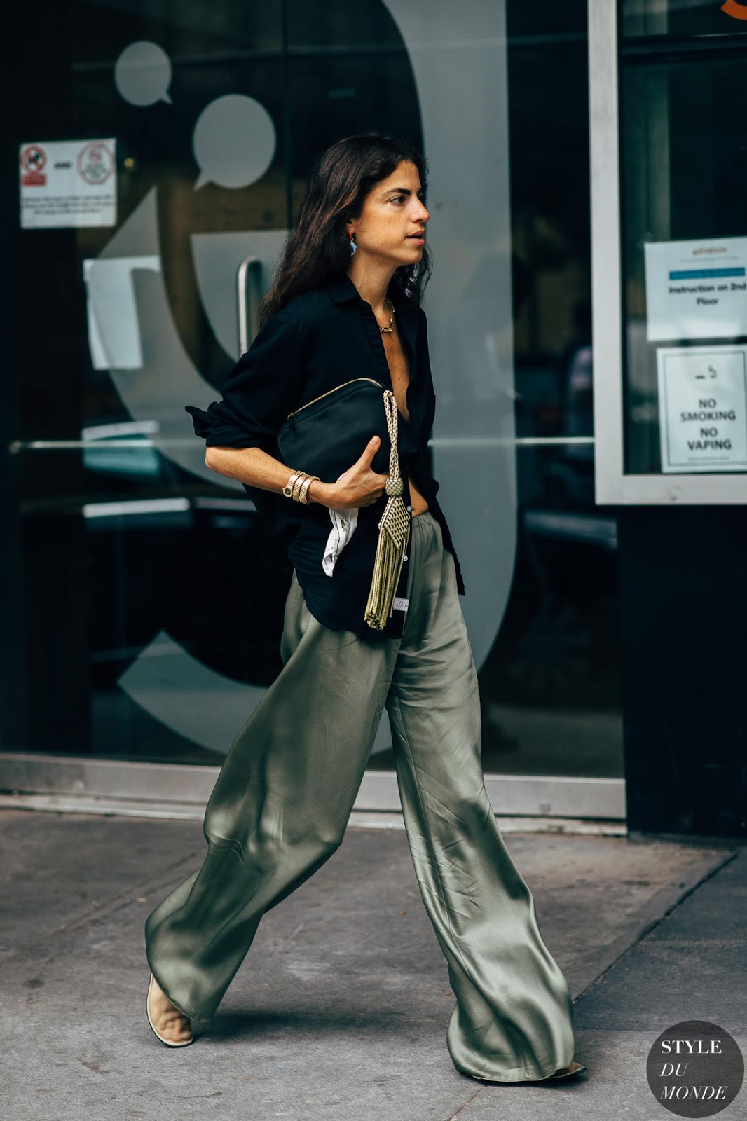 Summer Trends: Fashion Girls Love a Silky Pant