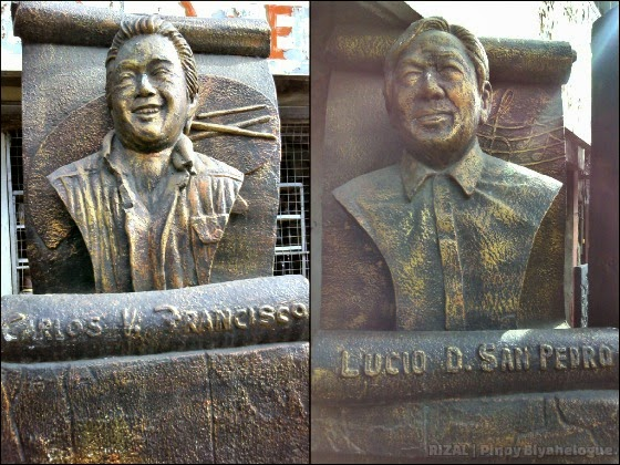 Busts of National Artists of Angono