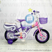 12 Inch Erminio 2208 Butterfly Kids Bike