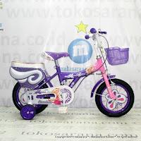12 Inch Erminio 2208 Butterfly Kids Bike
