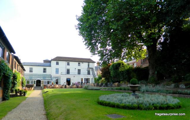 Edifício histórico do Winchester Royal Hotel, Inglaterra