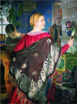 necasta-comerciantului-cu-o-oglindă-boris-kustodiev-1920