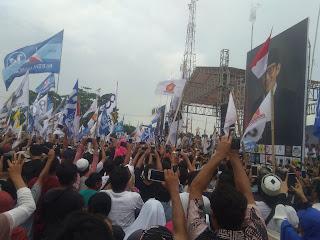 Kampanye di Lombok, Prabowo Sapa Media Pake Bahasa Asing