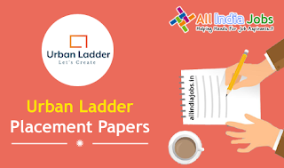 Urban Ladder Placement Papers