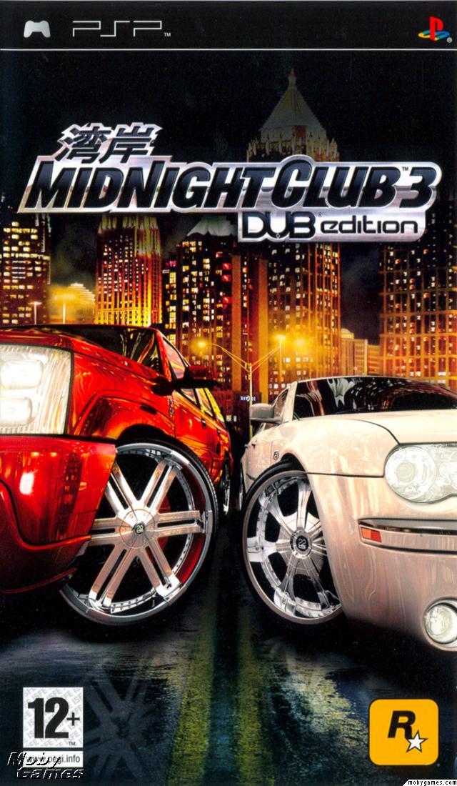 Midnight Club 3 DUB Edition Psp Game Free Download