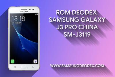 ROM DEODEX SAMSUNG J3119