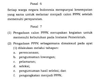 Jadwal Penerimaan dan Pengangkatan Honorer Menjadi PPPK