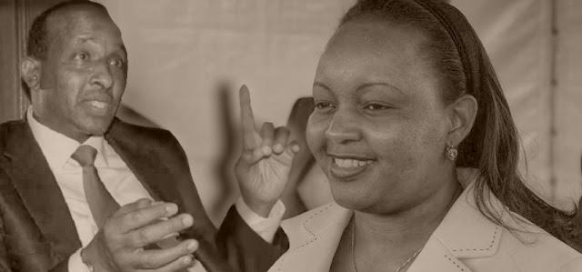 Anne Waiguru with Aden Duale photo