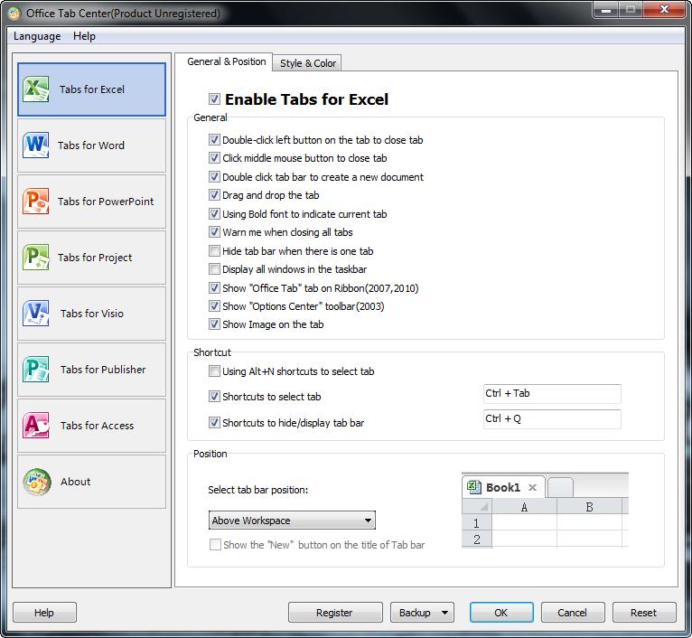 Serial Number Office Tab Enterprise 9.70