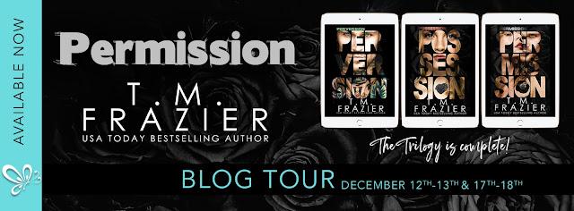 Blog Tour z Permission zakończenie Trylogii Perversion autorstwa T.M. Frazier