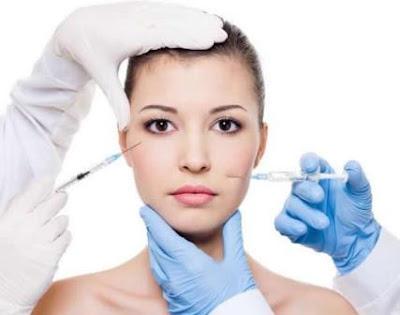 căng da mặt không cần phẩu thuật gây nên nhiễm trùng ,dị ứng cho da