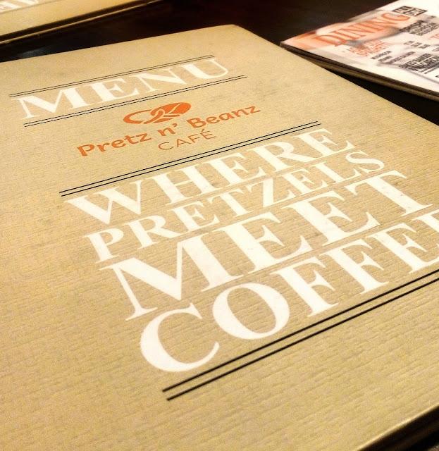 Pretz n' Beanz Cafe - Pretzel Pizza pertama di Malaysia.