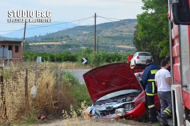 Τροχαίο ατύχημα στη παλαιά εθνική Άργους Τριπόλεως