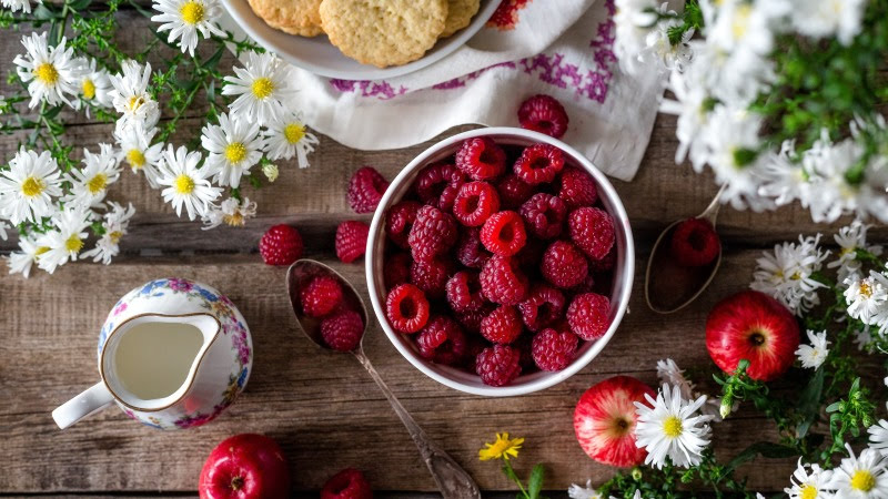 Natural and Tasty Raspberry HD