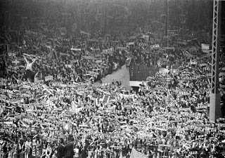 Stretford End in 1970's