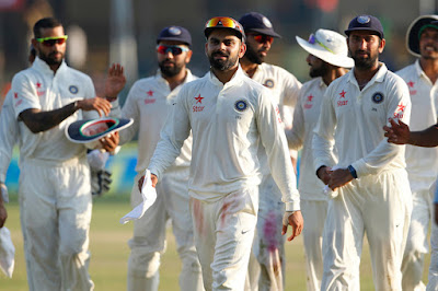 Kohli Captain Leads The Victorious Indian Team