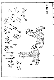 Ming Dynasty Handheld Rocket