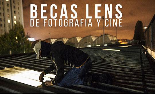 Becas LENS de Fotografía y Cine 2016