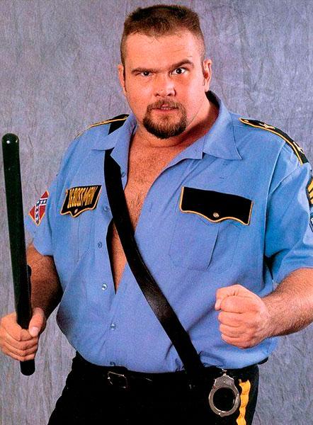 Pressing Catch WWF - El poli loco