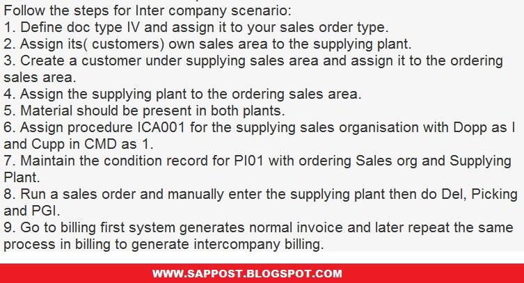 INTERCOMPANY STO | SAP MM, ARIBA, S4 HANA Simple Logistics