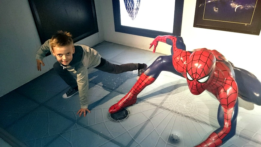 Madame Tussauds Spiderman