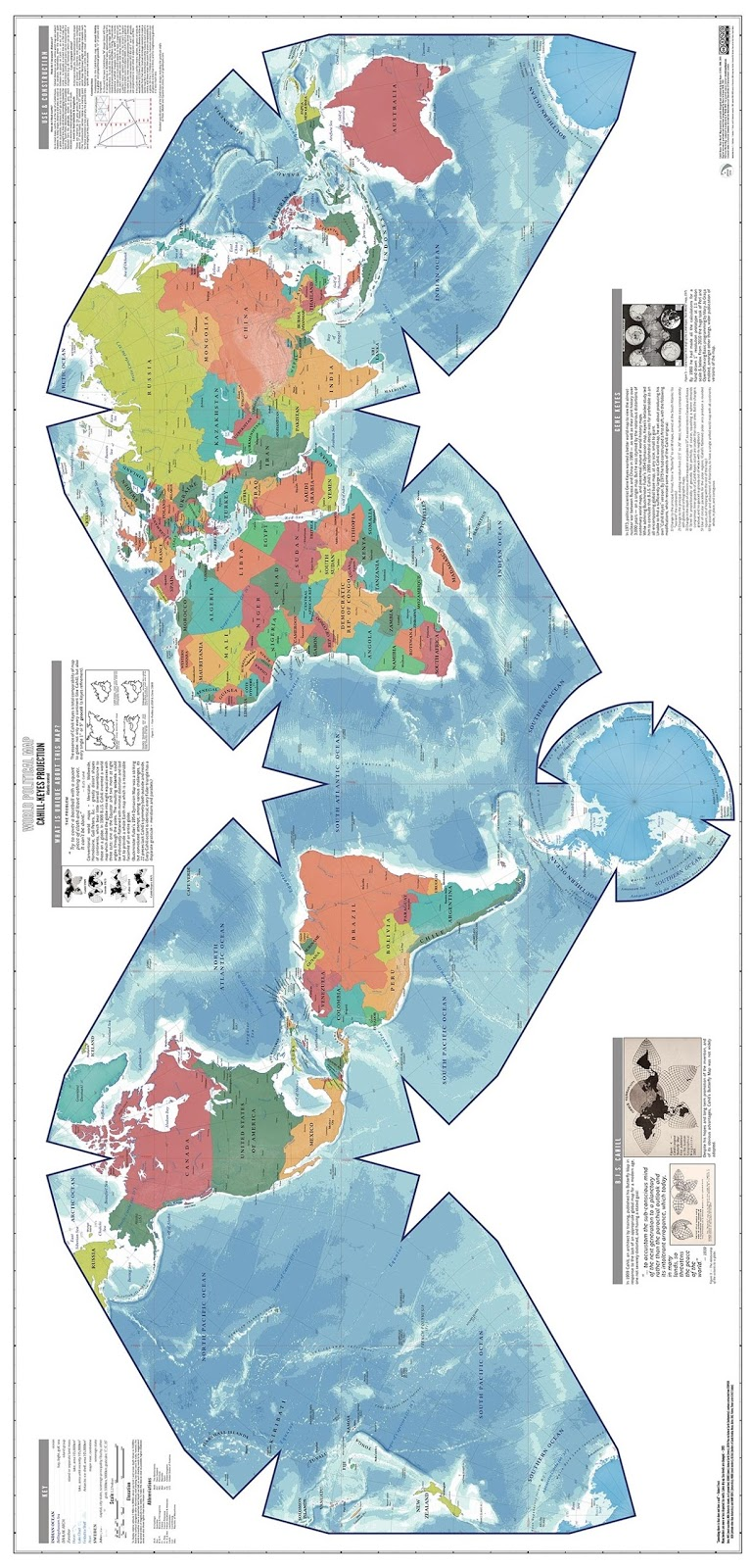 How to make an accurate globe at home using a printed world map printer preferably cut out the white empty parts and carefully join the remaining shape using glue or tape to form a sphere ie your globe gumiabroncs Choice Image